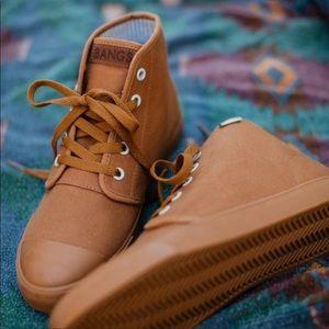 Shoes - BANGS Sahara Sand High Tops